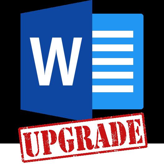 Upgrade Microsoft Word to 2016