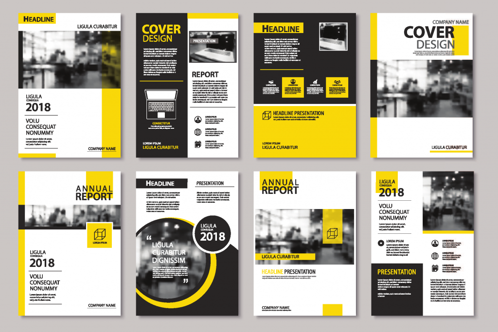 Corporate Document Template Design: Corporate Branding. Corporate Identity.